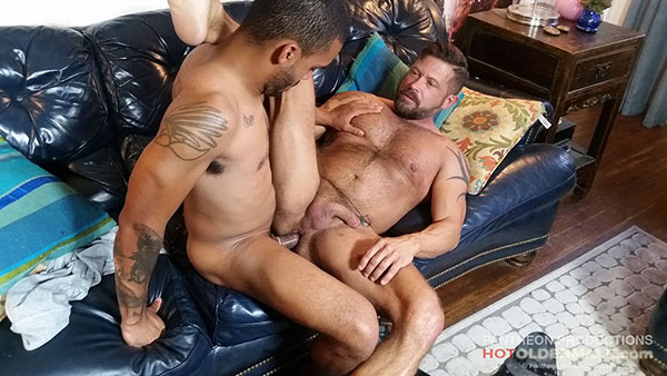 Danny Takes Johnny's Big Brown Boy Cock