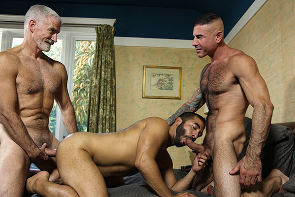 Beefcake Daddies: Hot Muscle Daddy 3-Way
