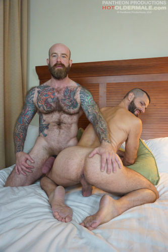Hung & Hairy Muscle Daddy Jack Dixon Opens up Jake Morgan