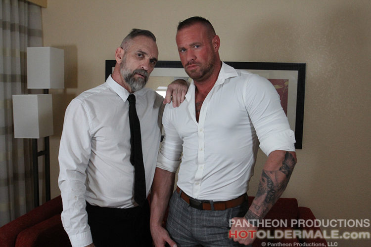 Michael Roman breeds Peter Rough in Business Affairs 2